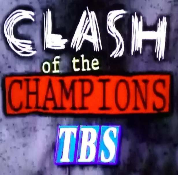 Image result for original wcw clash of the champions logo