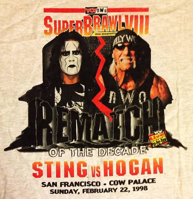 Image result for wcw superbrawl VIII poster
